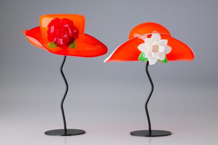 Brian Brenno glass hats